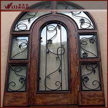 Iron art security door on sale
