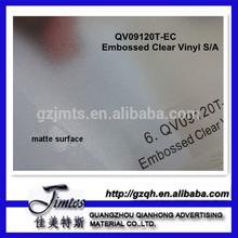 embossed clear pvc self adhesive car vinyl roof