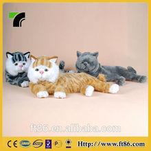 2014 new popular Christmas decoration animal model the three little Garfield