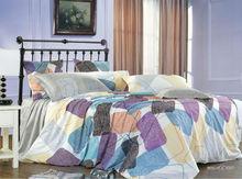 JOGO COM4 PECAS KOSMOS-100%cotton printed bed sheet set american size