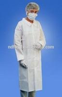 non woven white dental gowns