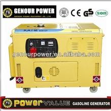 Genourpower KDE12E3 10kva small portable diesel generator silent diesel generator