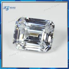 Nicely Emerald Cut Synthetic Diamond Price per Carat Wholesale 9x11mm Price of 1 Carat Diamond