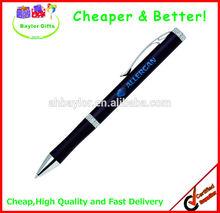 Factory prices Decent metal pen logo laser pen metal ballpoint pen