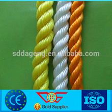 3 strand nylon rope for marine