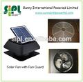 Casa verde! Nova casa aparelho elétrico painel solar ar de refrigeração do ventilador da cc