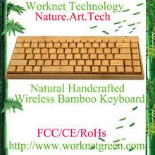 wireless keyboard / mini bamboo keyboard for ipad