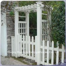 PVC plastic arbor garden trellis