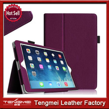 Fancy case for ipad air,book style leather case for ipad air