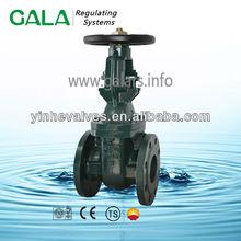 BS/ MSS metal seated long stem sanitary gate valve,ansi gate valve