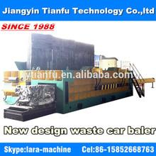 YQD-2500 Waste car press machine hydraulic scrap car baler CE