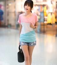 summer cotton shirt city shirt colorful t shirt LM71