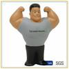 muscle man shape antistress ball,PU foam stress man