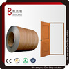 Wooden grain pvc laminated steel sheets for security door