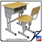 hot sale modern new design cheap metal frame legs student desk study writing table school furniture