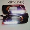 Factory direct sale high quality led DRL for Honda city car led drl fog light