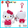 Fashional Style Cheap stuffed plush toy keychain