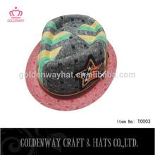 male felt fedora party hats fedora crushable felt hats