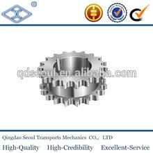 DIN ISO standard transmission taper lock sprocket 3/4''*7/16'' 45C material 13T for 12B-2 duplex roller chain