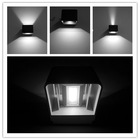 IP65 Waterproof top quality with nice design outdoor wall mounted led light/6W led up down wall lighting