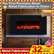 Kindle custom gas fireplace