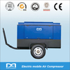 portable air compressor for down the hole drill