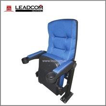 Leadcom lounger engineered push back cinema seat with cupholder (LS-11602)
