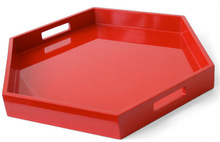 2014 New design Wooden Serving Tray with Handles