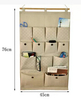 promotional use cheap polyester mesh bothroom hanging storage bag toiletry bag