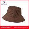 Fashionable 2014 Custom Design 100% Cotton Twill Bucket Hats Fishmen Caps For Sale Small Order Acceptable