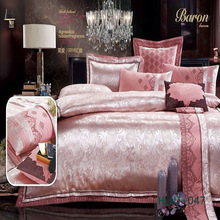 Toplevel jacquard bed sets hotel comforter