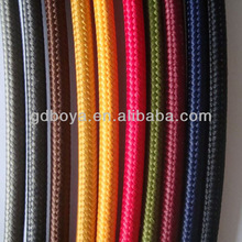 Bar Decorative Lighting Cable Colored Lighting Cable Textile Braided Cables