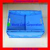 65L Popular Plastic Stackable Folding Crate