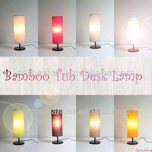 oriental style desk lamp shades beside table