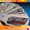 Custom adhesive vinyl car bumper sticker