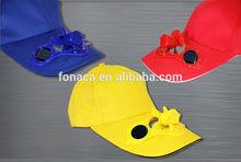 ABS Fan Solar Summer Hat, Solar Sport Fan Cap