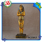 SGE013 Gold Painting Pharaoh Home Egyptian Decorative Plates