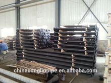 factory price Longkou DI double flange pipe piece