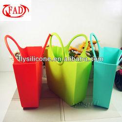 2013 Latest silicone new model purses and ladies handbags