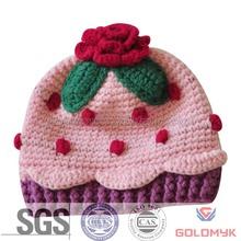 Children Crochet Knitted Hat