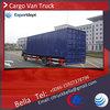 9-12T DONGFENG 4x2 van truck , colorful van and truck body , cheap mobile van