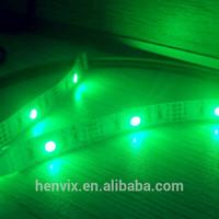 high lumen rgb multicolor USB 5v strip light with computer