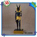 sge018 dios egipcio anubis deidad chacal escultura estatua