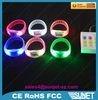 China printing logo green plastic bracelets wholesale