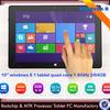 Quad Core windows 8 tablet pc intel Retina Screen