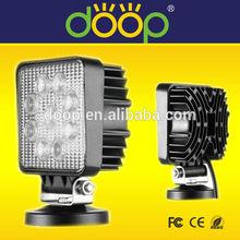 HOT sale 27W 12V LED Work Light Lamp IP67 Spot 4x4 Jeep ATV Tractor Motorcycle Offroad Fog LED Worklight Car External Light