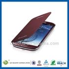 Professinal manufacturer for i9300 leather case