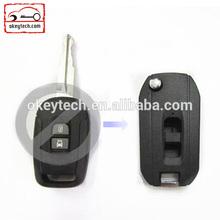 Okeytech 2 buttons flip key chevrolet for chevrolet key cover for chevrolet captiva