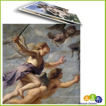 ceramic tile reproduction paintings of angels wings