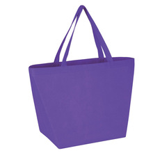 FH Purple Recycled Non Woven Reusable Bags